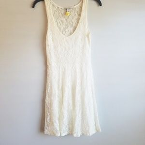 American Rag full lace sheer dress